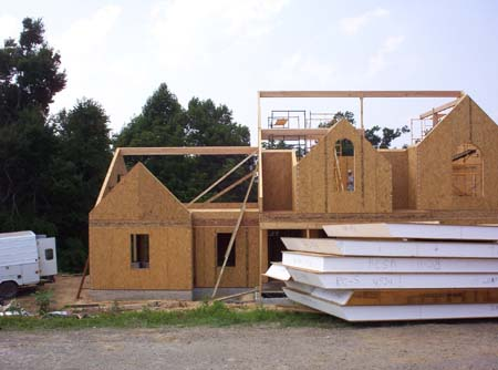 Hawkeye framing framing soluti for Sip home construction